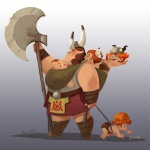 Viking mom