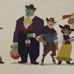 Wildwest Characters